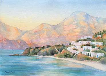 Sunset Over Kalymnos